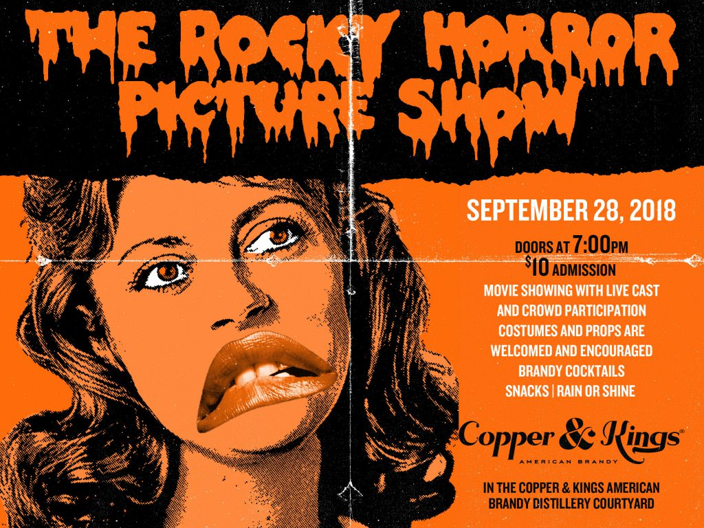 The Rocky Horror Picture Show Copper And Kings American Brandy